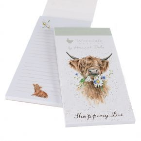 Wrendale Shopping Pad- Cow