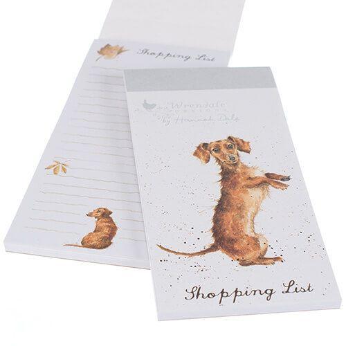 Wrendale Shopping Pad- Sausage Dog