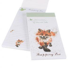 Wrendale Shopping Pad- Fox