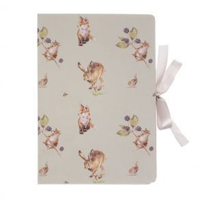 Wrendale Sticky Note Notebook- Hare & Fox