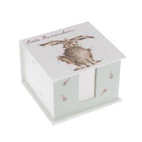 Wrendale Memo Block- Hare