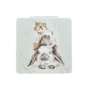 Wrendale Compact Mirror- Guinea Pig