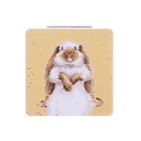 Wrendale Compact Mirror- Rabbit