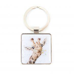 Wrendale Keyring- Giraffe