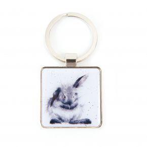 Wrendale Keyring- Rabbit