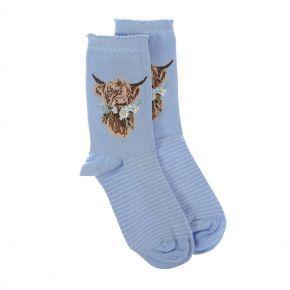 Wrendale Socks- 'Daisy Coo'