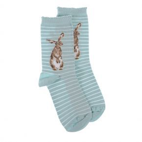 Wrendale Socks- 'Hare And The Bee'