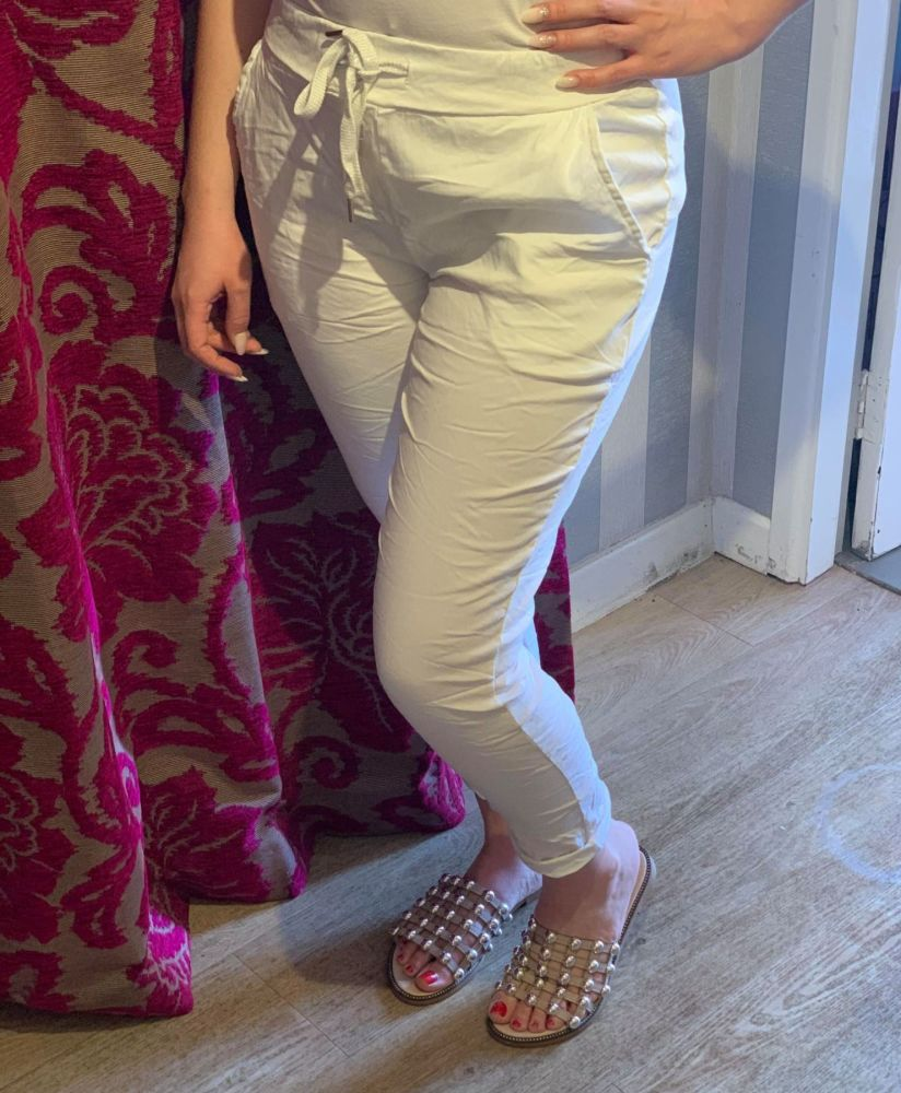 EASTER PRE-ORDER - White Magic Trousers