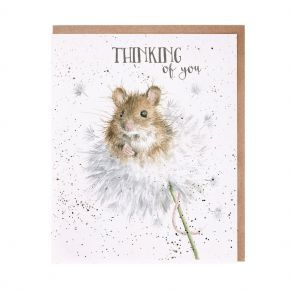 Wrendale Thinking Of You Card- Mice