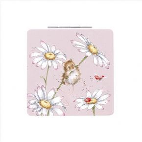 Wrendale Compact Mirror- Mouse