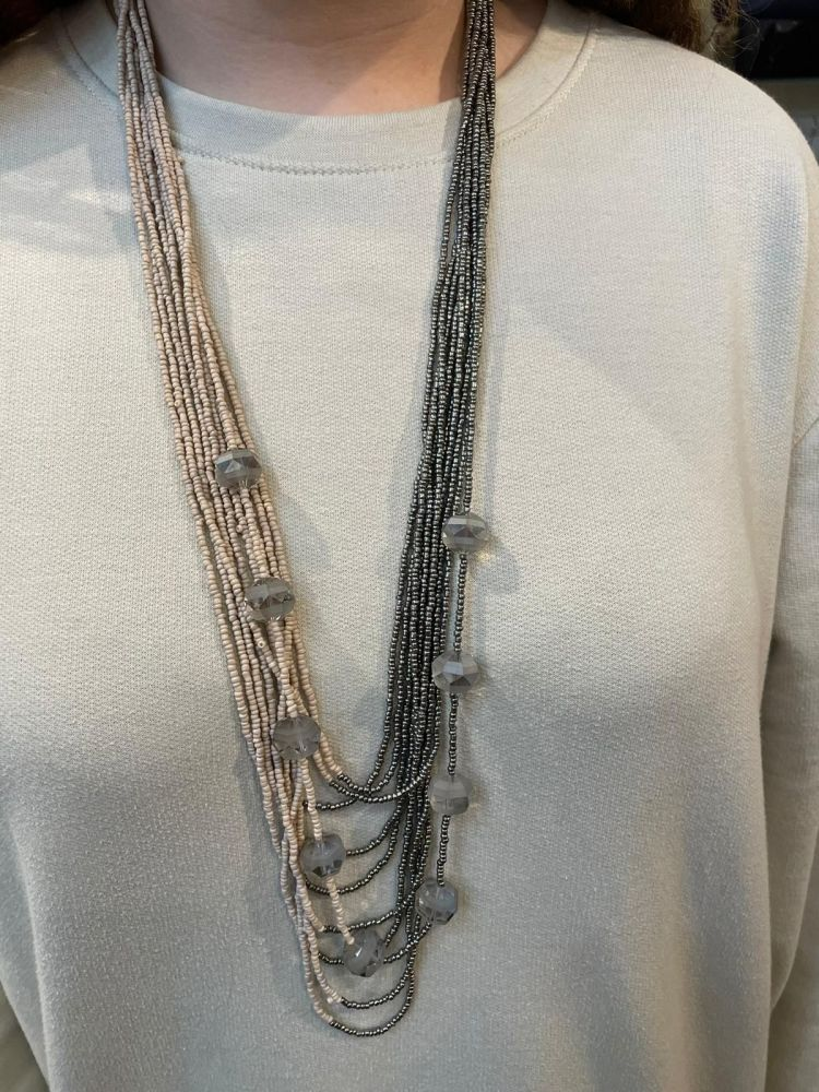 Envy Two Tone Long Necklace