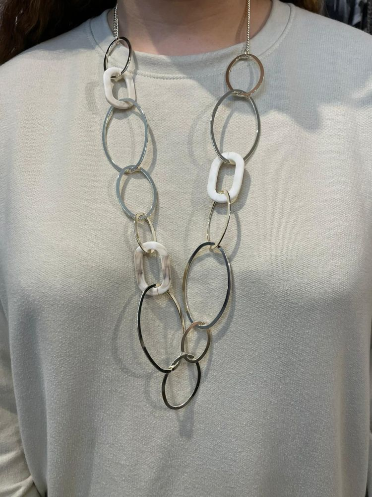 Envy Chained Long Necklace