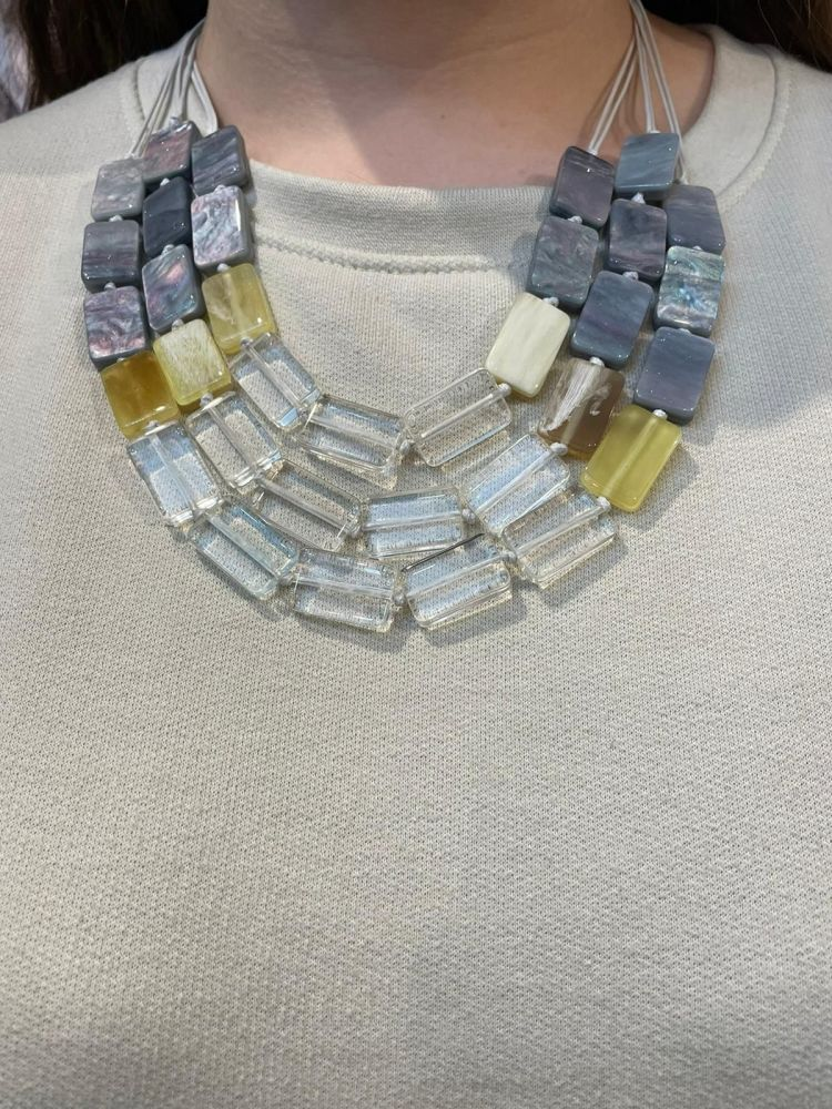 Envy Layered Short Necklace