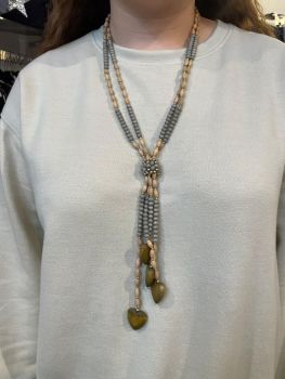 Envy Beaded Long Necklace