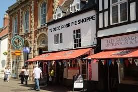 Pork Pie shop in Melton Mowbray