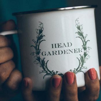 Gardener's Enamel Steel Cup