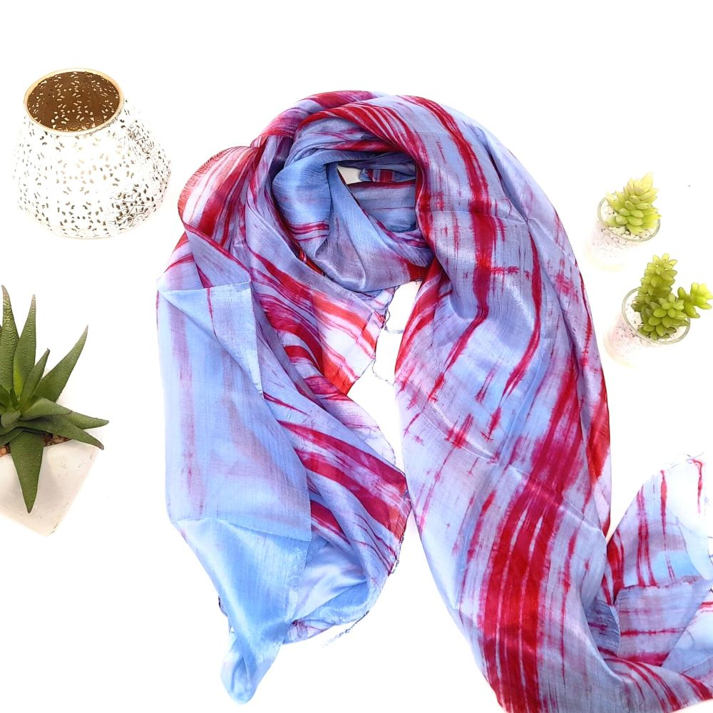 HAND PAINTED SILK SCARF COLLECTION