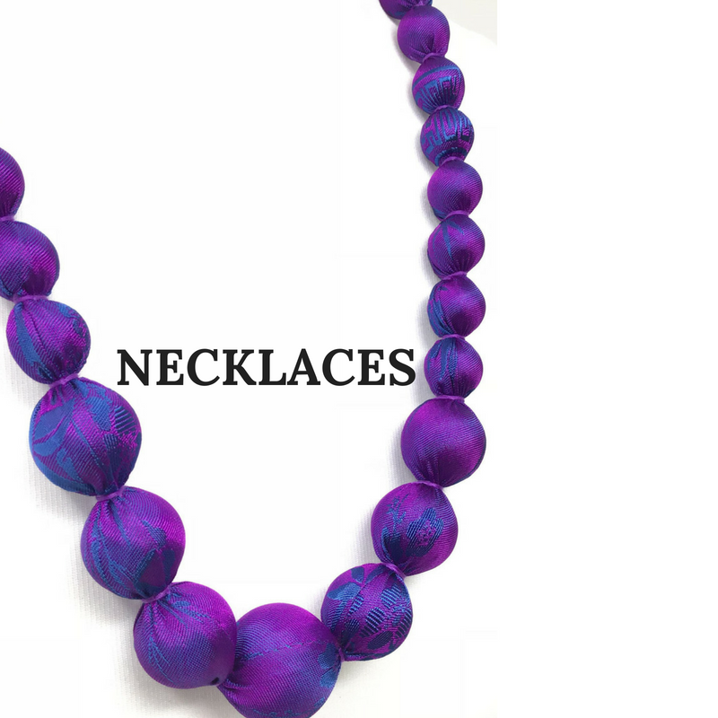 Silk Necklaces