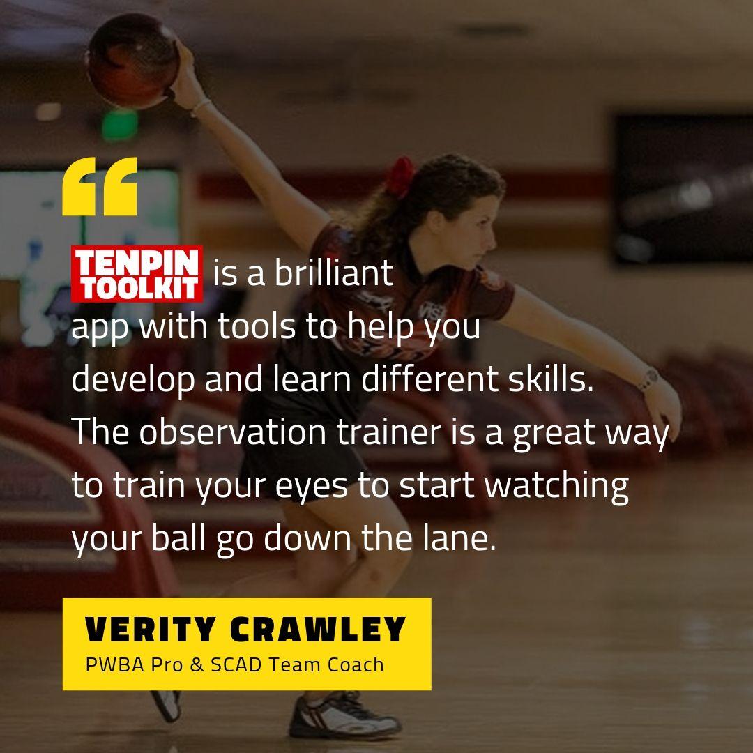 Verity Crawley - PWBA Professional Bowler