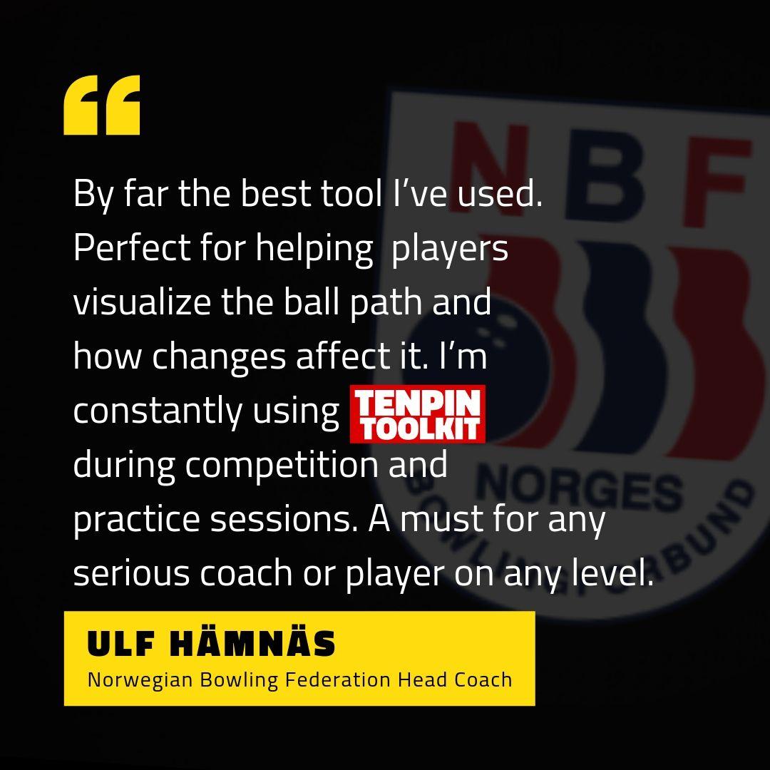 Ulf Hämnäs - Norwegian Bowling Federation Head Coach