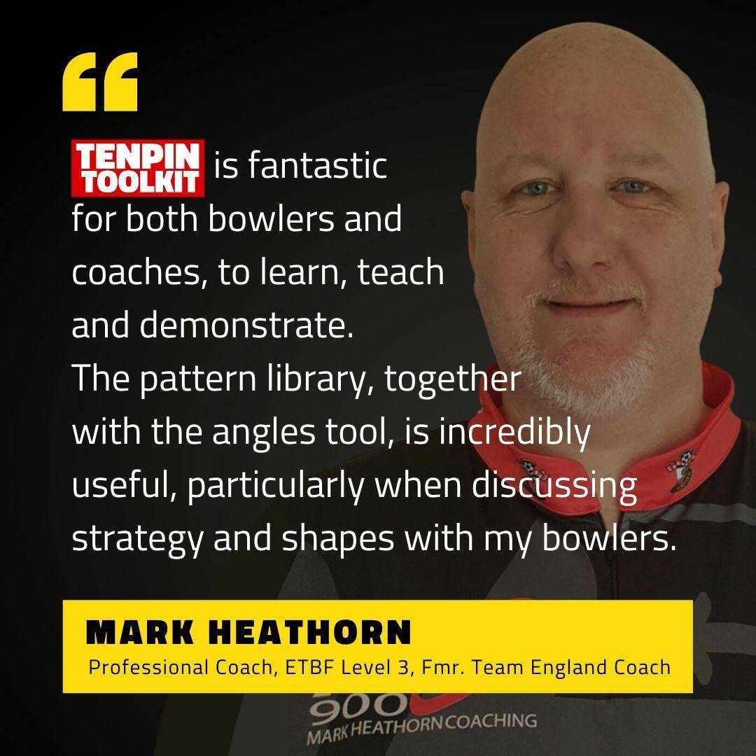 Mark Heathorn - ETBF Level 3 Bowling Coach