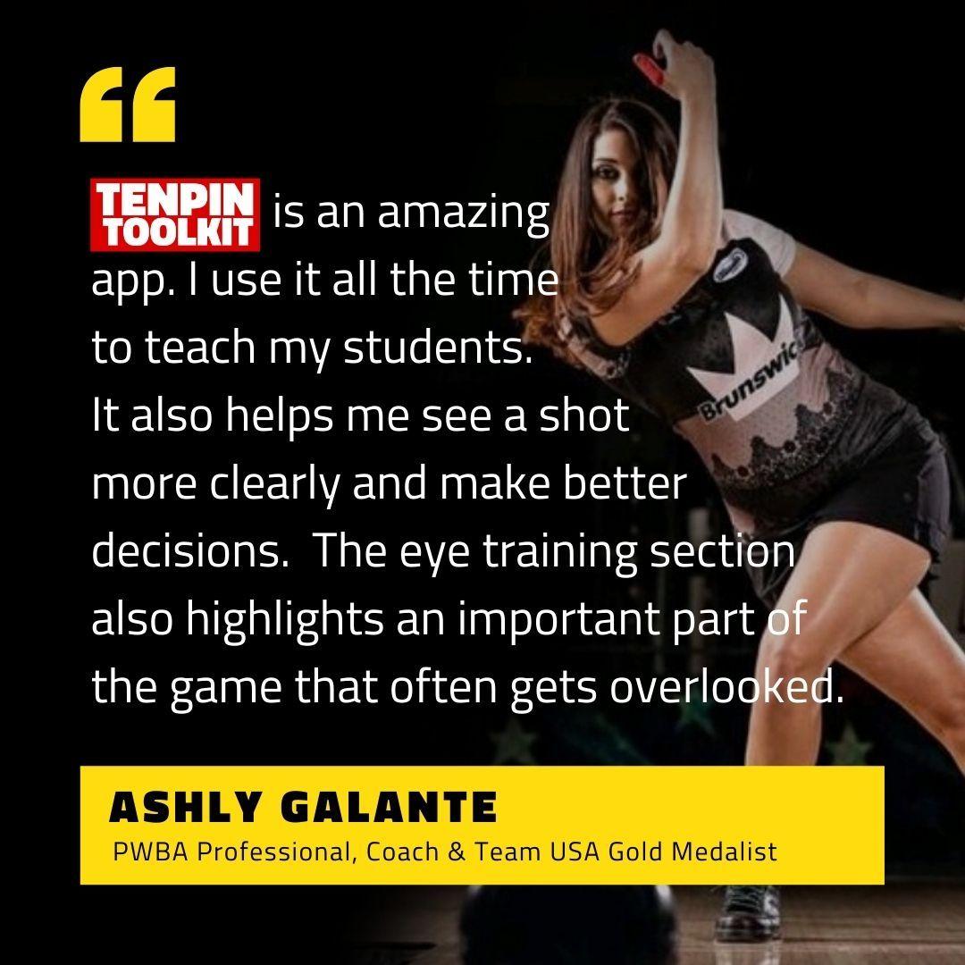 Ashly Galante - PWBA Professional Bowler