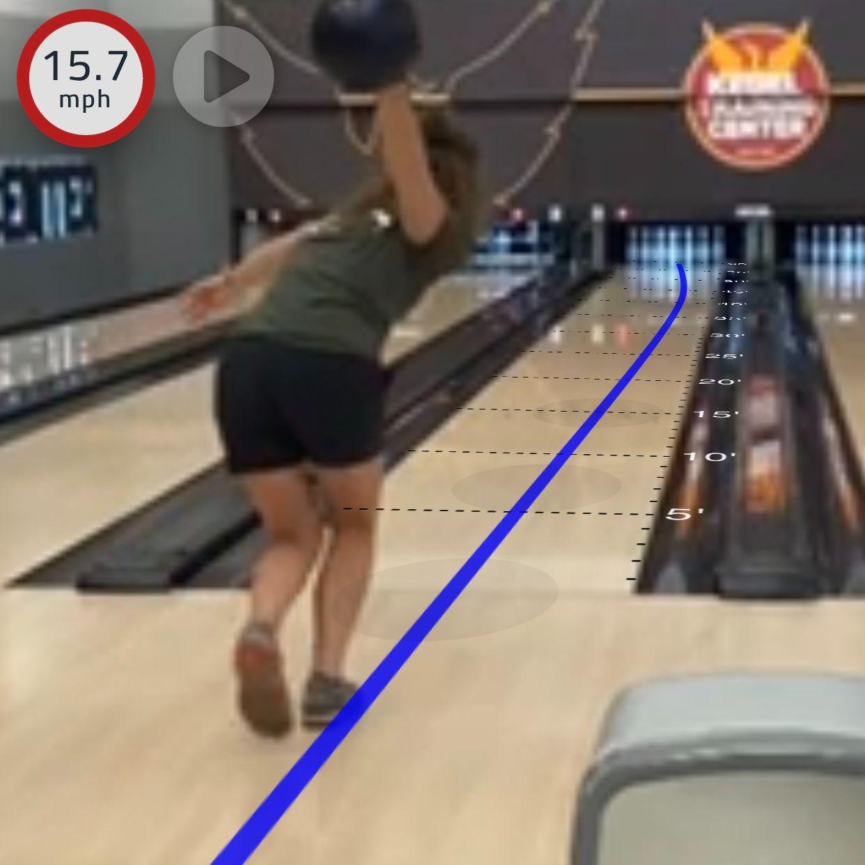Bowling video analysis in Tenpin Toolkit