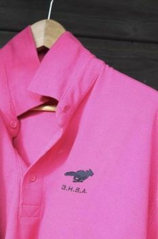 Polo Shirts in Pink