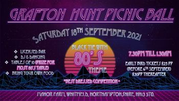 Grafton Hunt Picnic Ball - SOLD OUT