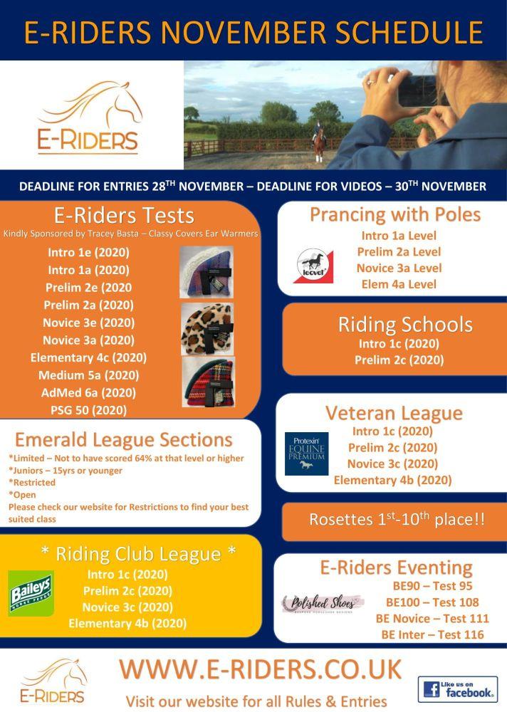 November Schedule-1