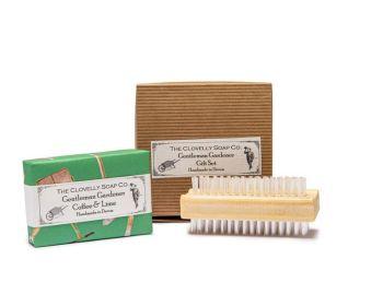 Gentleman Gardener's Gift Set with nail brush