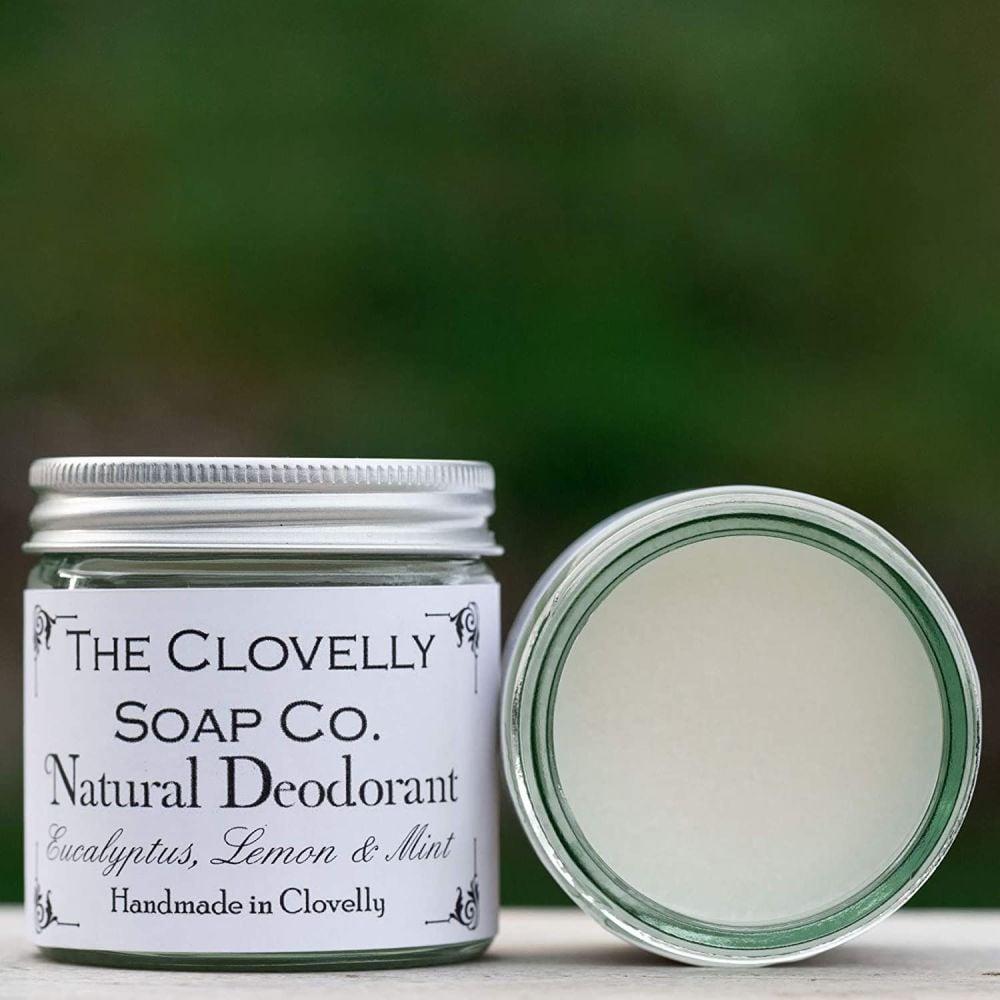 Natural Deodorant Eucalyptus, Lemon & Mint 50g