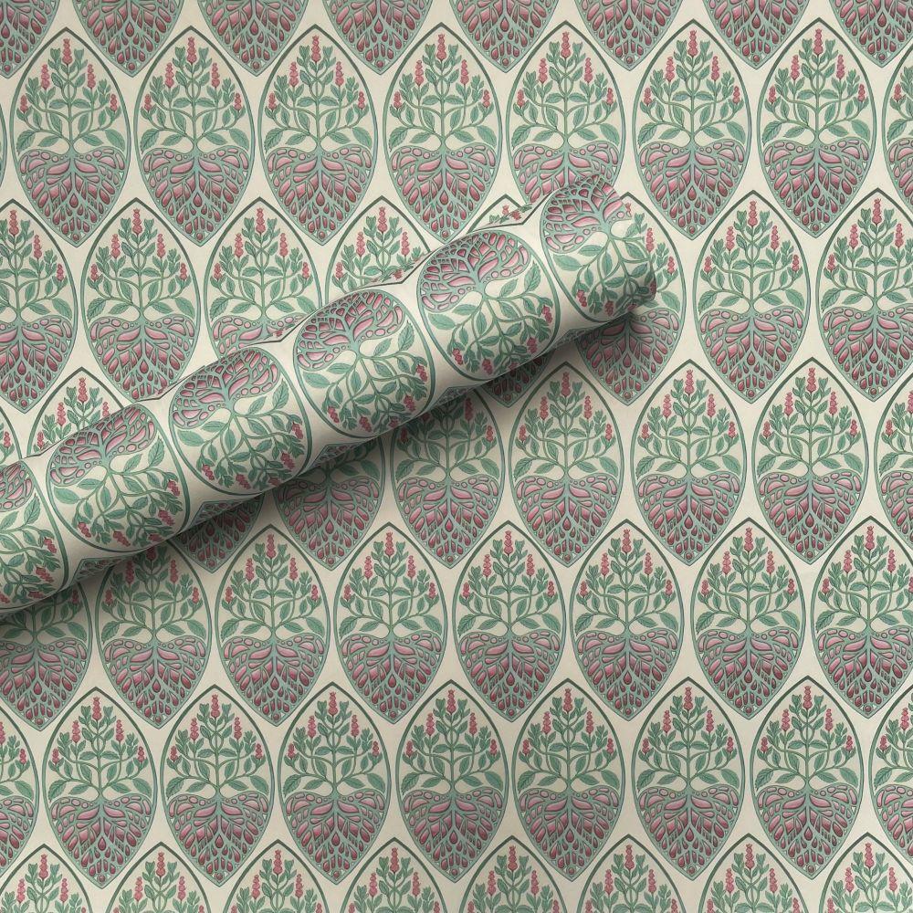 Art Deco Mint Gift Wrap