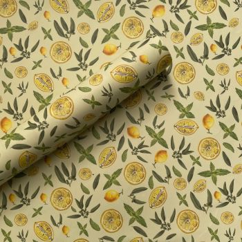 Eucalyptus, Lemon & Mint Gift Wrap