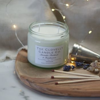 Lavender, Patchouli  and Frankincense Aromatherapy Candles