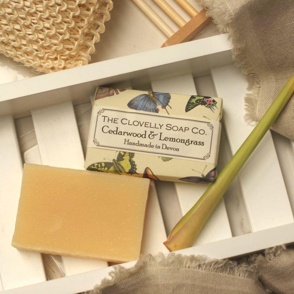 Cedarwood & Lemongrass Soap Vegan Handmade