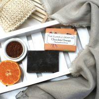 Chocolate Orange Handmade Vegan Soap