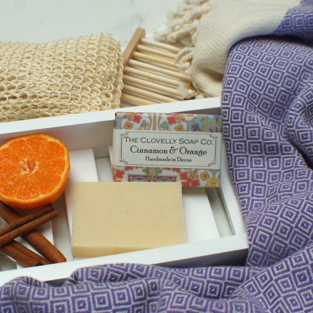Cinnamon and Orange Handmade Vegan Soap