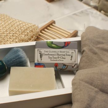 Gentleman's Shaving Soap Tea Tree and Clay