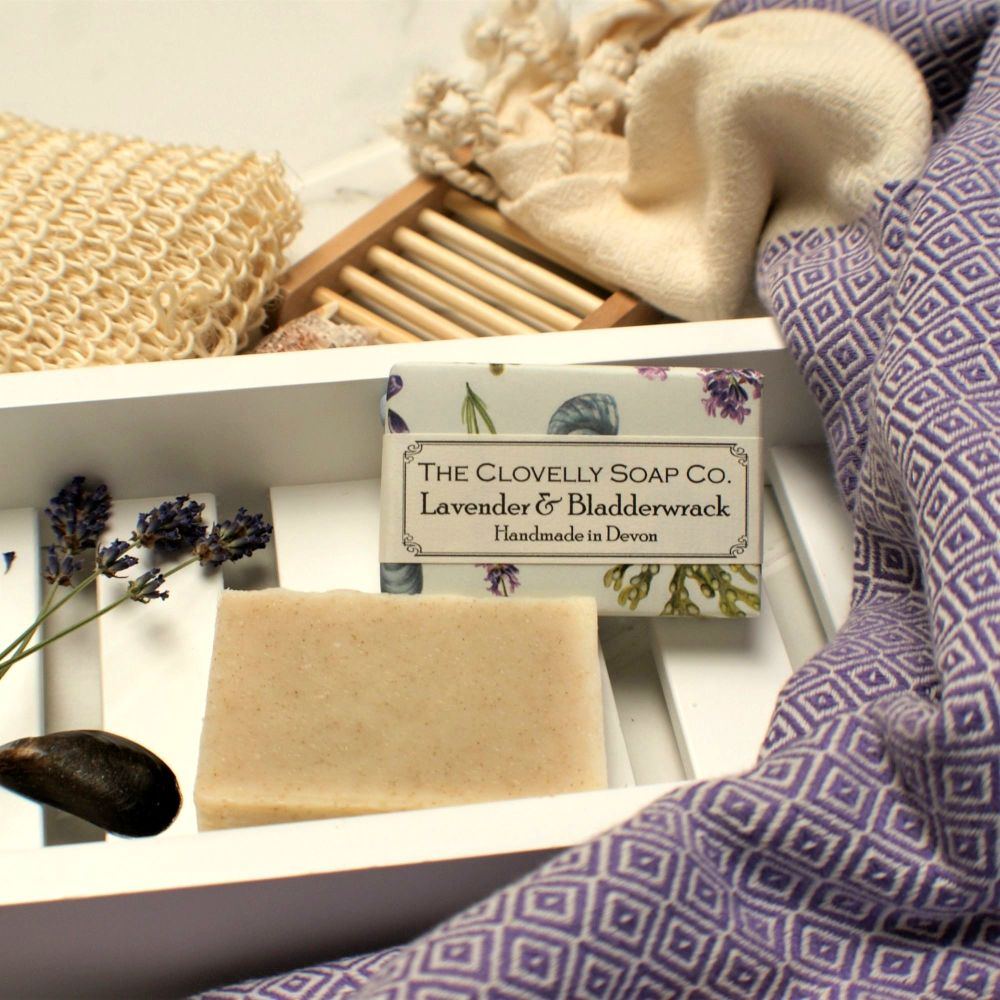 Lavender & Bladderwrack Soap