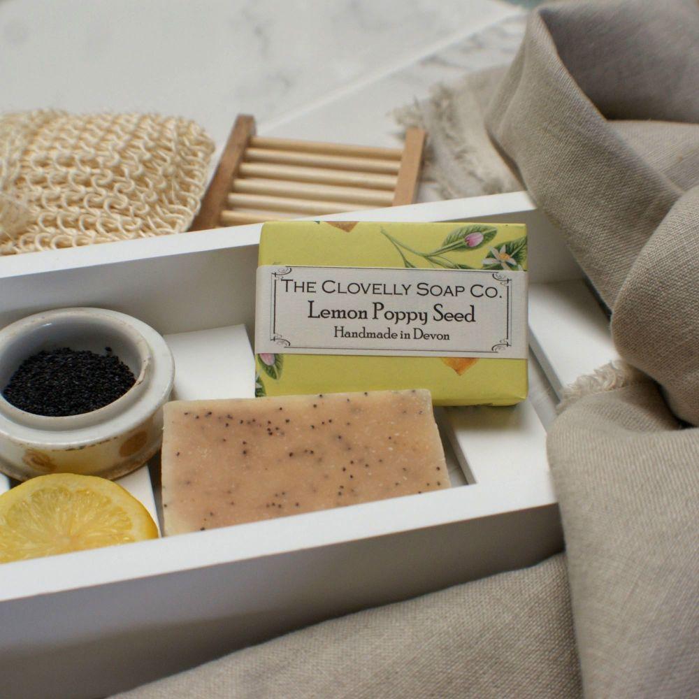 Lemon Poppy Seed Soap
