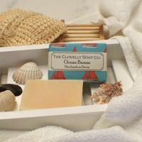 Ocean Breeze Soap with Bergamot, Lemongrass, Lime and pumice stone