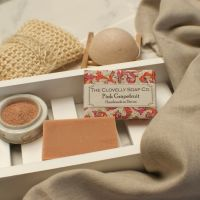 Pink Grapefruit and Clay Soap
