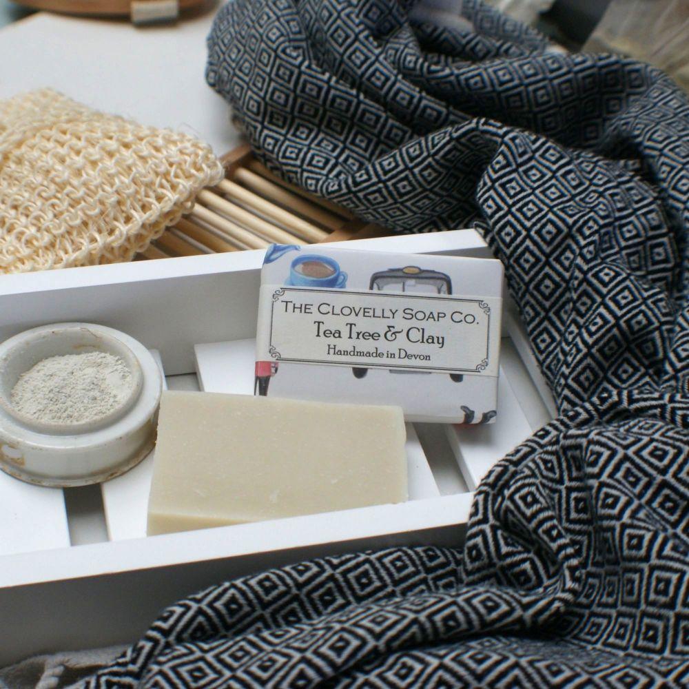 Tea Tree & Clay Soap