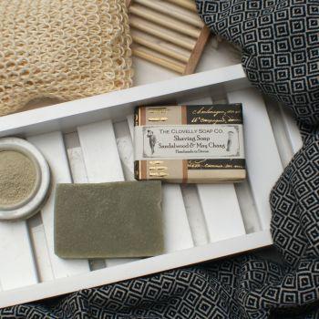 Sandalwood & May Chang Moisturising Shave Soap