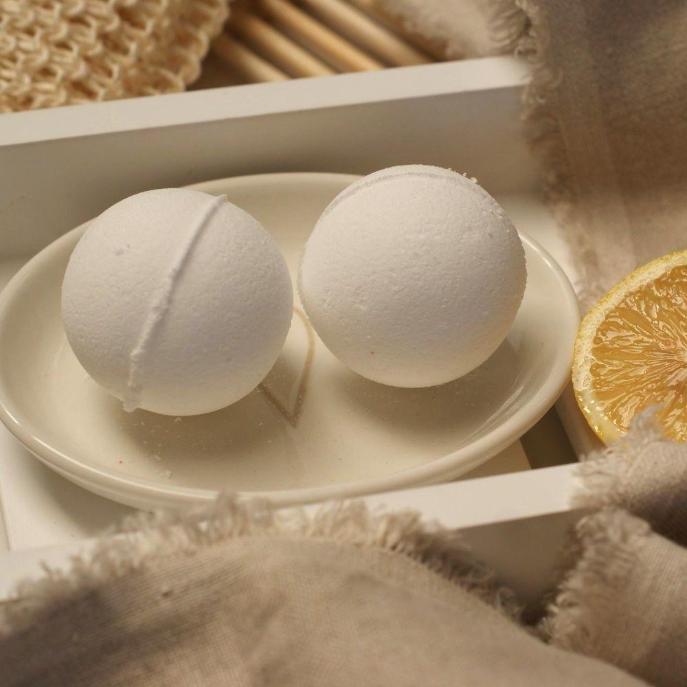 Lemon and Lime Aromatherapy Bath Bomb