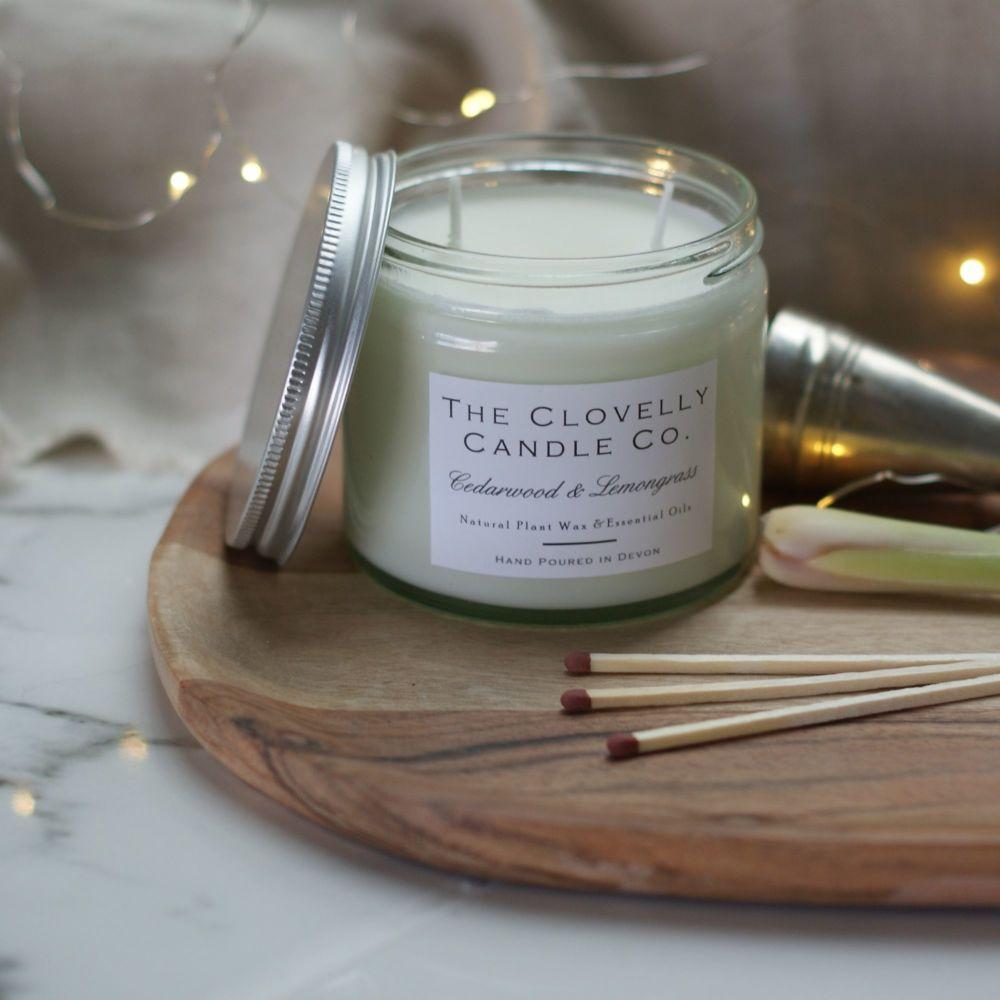 Cedarwood & Lemongrass Candles