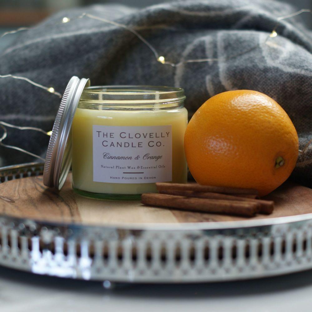 Cinnamon & Orange Aromatherapy Jar Candles