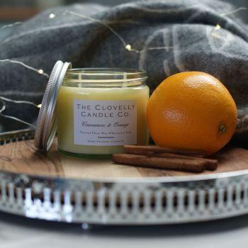 Cinnamon and Orange Aromatherapy Candles