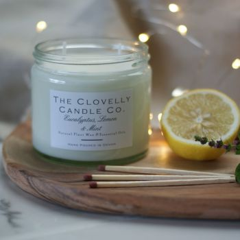 Eucalyptus, Lemon & Mint Aromatherapy Candle